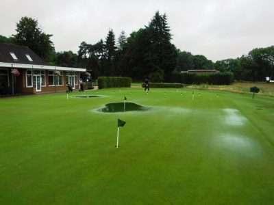 A damp day!