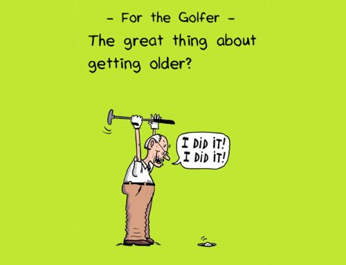 Shooting your age! Alan Swindley shoots gross 76 at 79!